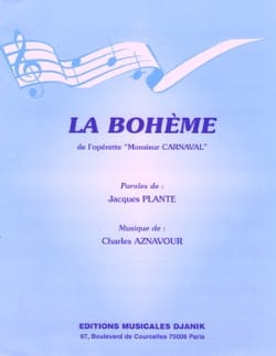 Charles Aznavour - Bohemian - Sheet Music - di-arezzo.co.uk