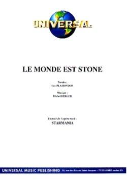 Berger M. / Plamondon L. - Le Monde Est Stone Starmania) - Partition - di-arezzo.fr