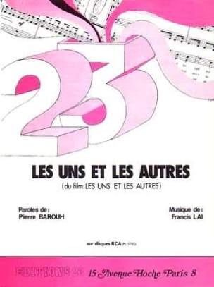 Francis Lai - The Uns y los otros - Film Music - Partitura - di-arezzo.es