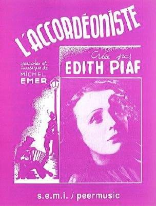Edith Piaf - accordionist - Sheet Music - di-arezzo.co.uk