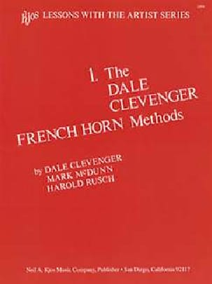 Dale Clevenger - The Dale Clevenger Volume 1 - Partition - di-arezzo.fr