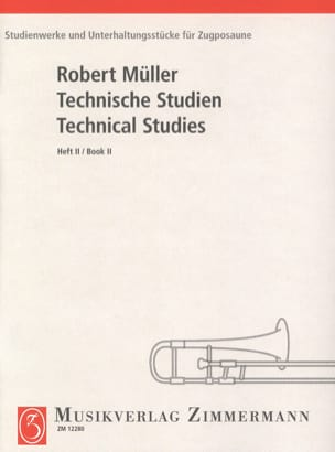 Robert Müller - Technical Studies Volume 2 - Sheet Music - di-arezzo.co.uk