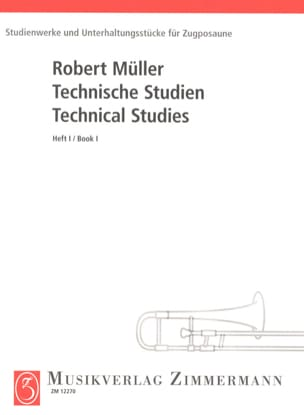 Robert Müller - Technical Studies Volume 1 - Partition - di-arezzo.fr