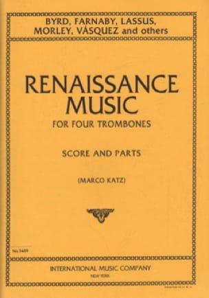 Renaissance music - Partition - di-arezzo.fr