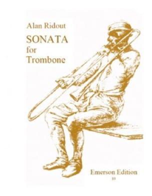 Sonata for solo trombone - Alan Ridout - Partition - laflutedepan.com