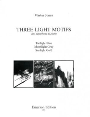 Three Light Motifs - Martin Jones - Partition - laflutedepan.com