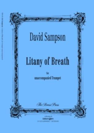 David Sampson - Litany of breath - Sheet Music - di-arezzo.com