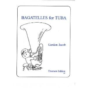 Gordon Jacob - Bagatelles for Tuba - Sheet Music - di-arezzo.com