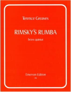 Terence Greaves - Rimsky's Rumba - Partition - di-arezzo.fr