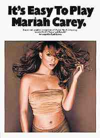 It's easy to play Mariah Carey Mariah Carey Partition laflutedepan