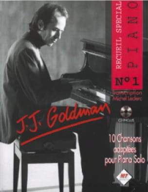 Jean-Jacques Goldman - Special Piano Collection N ° 1 - Sheet Music - di-arezzo.co.uk