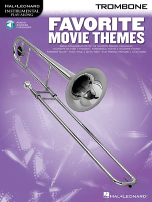 Favorite Movie Themes Partition Trombone - laflutedepan
