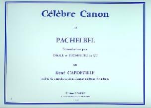 Célèbre Canon Johann Pachelbel Partition Trompette - laflutedepan