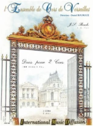 BACH - Duos for 2 Horns - Sheet Music - di-arezzo.com