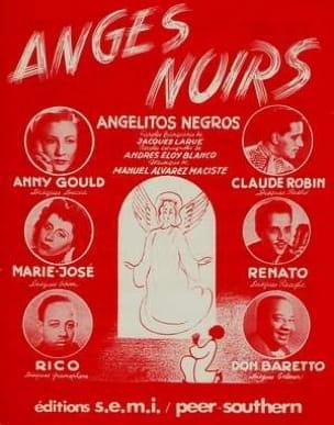 Maciste Manuel Alvarez - Ángeles negros - Partitura - di-arezzo.es