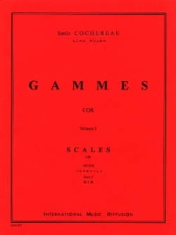 Emile Cochereau - Volume 1 ranges - Sheet Music - di-arezzo.co.uk