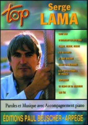 Serge Lama - Top Serge Lama - Sheet Music - di-arezzo.com