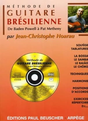 Jean Christophe Hoarau - Brazilian Guitar Method - Sheet Music - di-arezzo.com