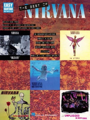 Nirvana - The Best Of - Easy Guitare - Partition - di-arezzo.fr