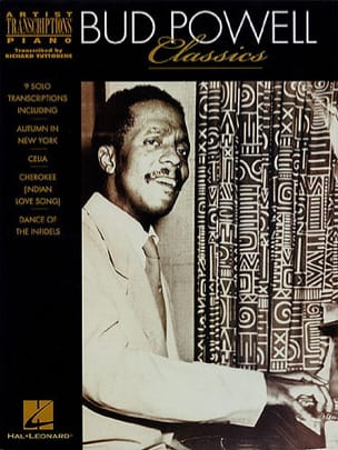 Classics Bud Powell Partition Jazz - laflutedepan