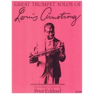 Louis Armstrong - Great Trumpet Solos Of... - Partition - di-arezzo.fr