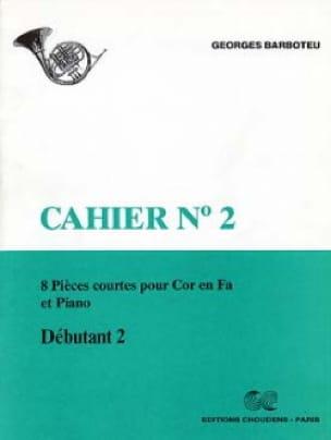 8 Pièces Courtes Cahier N° 2 - Georges Barboteu - laflutedepan.com