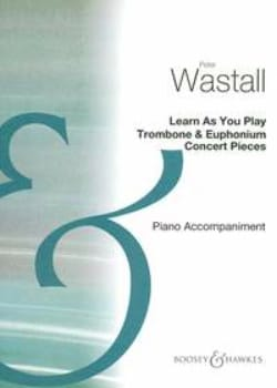 Peter Wastall - Learn as you play - Accompagnement Piano - Partition - di-arezzo.fr