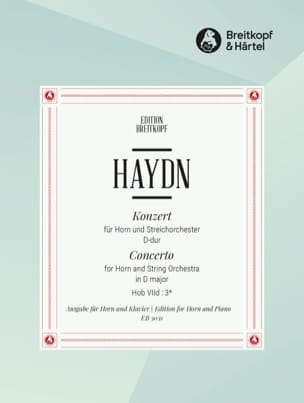 HAYDN - Horn Concerto No. 1 in D Major - Sheet Music - di-arezzo.com