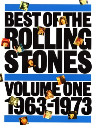 Best Of Volume 1 - 1963-1973 ROLLING STONES Partition laflutedepan