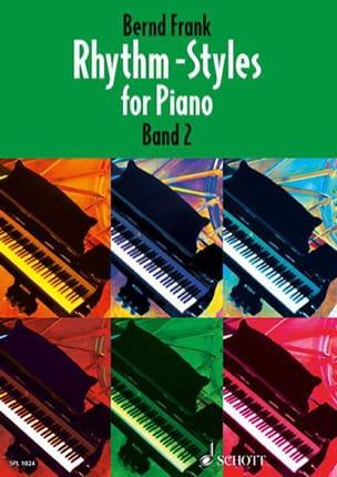 Frank Bernd - Estilos de ritmo para el volumen 2 de Piano - Partitura - di-arezzo.es