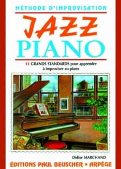 Didier Marchand - Jazz Piano - Partitura - di-arezzo.it