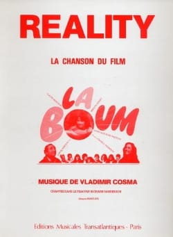 Vladimir Cosma - Reality - Movie Boom - Sheet Music - di-arezzo.co.uk