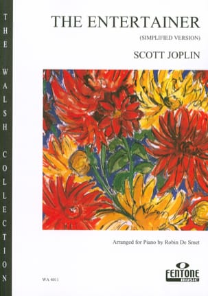 The Entertainer (Piano Simplifié) - Scott Joplin - laflutedepan.com