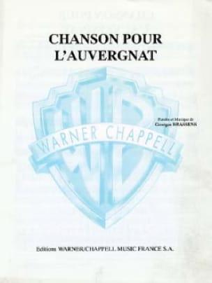Georges Brassens - Chanson Pour L'auvergnat - Partition - di-arezzo.fr