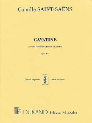Camille Saint-Saëns - cavatina - Sheet Music - di-arezzo.com