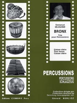 Emmanuel Séjourné - Bronx - Sheet Music - di-arezzo.co.uk