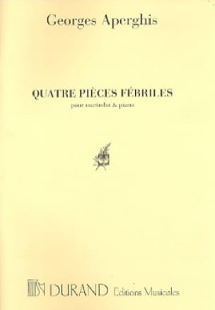 Georges Aperghis - 4 Pièces Fébriles - Partition - di-arezzo.fr