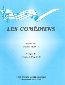 Charles Aznavour - The comedians - Sheet Music - di-arezzo.co.uk