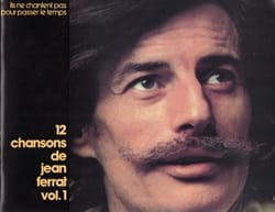 Jean Ferrat - 12 Songs - Volume 1 - Sheet Music - di-arezzo.com