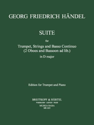 HAENDEL - Suite In Re Major - Sheet Music - di-arezzo.co.uk