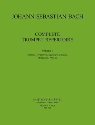 Complete Trumpet Repertoire Volume 3 BACH Partition laflutedepan