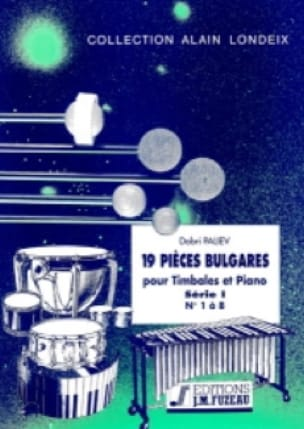 19 Pièces Bulgares Série 1 (1 A 8) - Dobri Paliev - laflutedepan.com