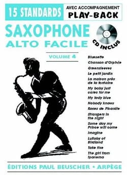 - Saxo alto facile volume 4 - Partition - di-arezzo.fr
