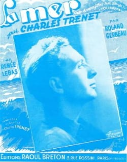 Charles Trenet - The sea - Partition - di-arezzo.co.uk