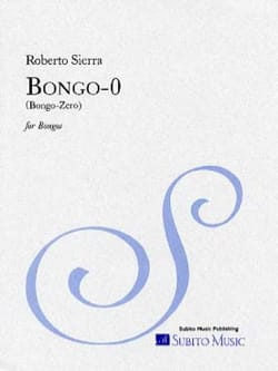 Roberto Sierra - Bongo-0 - Sheet Music - di-arezzo.co.uk