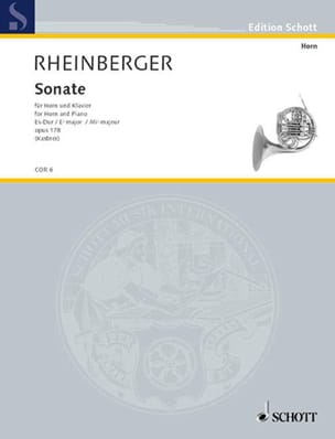 Joseph Rheinberger - Sonata in Eb major Opus 178 - Sheet Music - di-arezzo.com