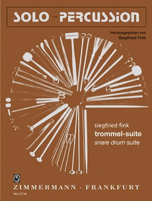 Siegfried Fink - Trommel-Suite - Sheet Music - di-arezzo.co.uk