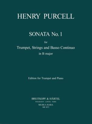 Henry Purcell - Sonata. Trompette - Partition - di-arezzo.fr