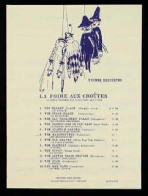 N° 6 les Marionettes Yvonne Desportes Partition laflutedepan