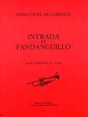 Intrada et fandanguillo Emmanuel De Coriolis Partition laflutedepan